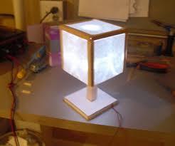 Led Popsicle Stick Lamp