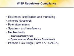 Regulatory Reporting And Compliance & VoIP Regulation Jonathan E ...