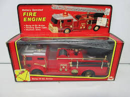 1980 New Bright Battery Operated Fire Engine (5) Sh Toys Japan Battery Operated Fire Engine Amazoncom Truck Toy Rescue With Shooting Water Lights And Buy Team Large With And Sounds Bump N Go Power Dept Sold Model Car Marklin 19034 Tin Clockwork C1998 Kid Motorz 6v Red Games Trax Electric Rideon 2 Seater Kids Ride On Cars Elegant 12v Hummer Hx E Unboxing Paw Patrol Marshall Powered
