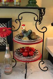 Rooster Decor For The Kitchen Home Catalog Fruit Tiers Figure Vases