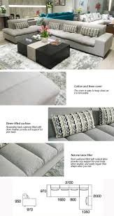 Sofa Headrest Covers Set by 2017 Latest China Light Gray Color Headrest Removable Cotton And