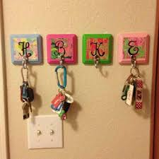 Cute Way To Hang Keys For Your Apartment Or Dorm Room Quick And Easy DIY Craft