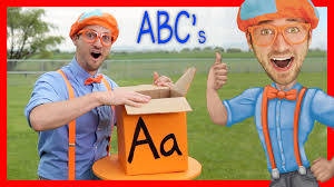 Learn The Alphabet With Blippi ABC Letter Boxes YouTube