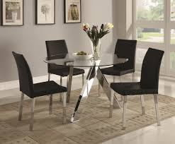 Sleek Round Glass Dining Tables That Make A Stylish Impression Discover The Seasons Newest Designs