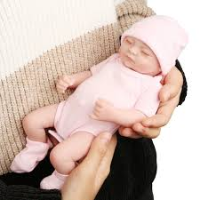 Realistic Lifelike Handmade Sleeping Newborn Reborn Baby Doll Girl