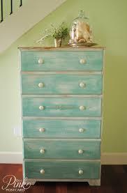 Pink Vintage Dresser Knobs by Cottage Beach Dresser Noble Vintage