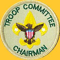 Cub Scout Committee Chair Patch Placement by Bsa Troop 21 Bluff Park Al