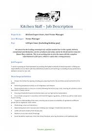 Cover Letter Sample Job Application Resume For Kitchen Manager New Staff