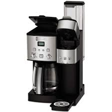 Cuisinart 12 Cup Coffee Maker And Single Serve Brewer Stainless Steel K