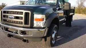 SOLD~~2008 Ford F550 Super Duty Dump Truck For Sale~Dejana 10ft Dump ...