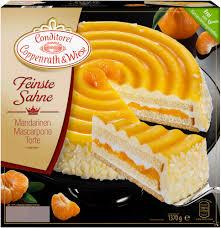 feinste sahne mandarinen mascarpone torte 1370 grams