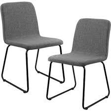 möbel 2x design stühle textil dunkelgrau stuhl hochlehner