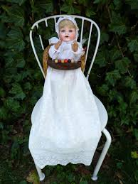 Old Antique German AM Bisque Baby Doll W/ Antique High Chair ... 24 Things You Should Never Buy At A Thrift Store High Chair Tray Hdware Baby Toddler Kid Child Seat Stool Price Ruced Vintage Wooden Jenny Lind Numbered Street Designs The Search Antique I Love To Op Shop Bump Score 52 Old Folding High Chair Has Been Breathed New Life Crookedoar Antique Dental Metal Dentist Chair Restored With Toscana Finish Wikipedia German Wood Doll Play Table Late 19th Ct