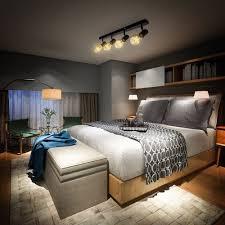 vintage deckenle retro deckenleuchte schwarz industrie wohnzimmer flur 4x e27