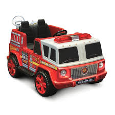 100 Power Wheels Fire Truck Kid Motorz 12V RideOn Emergency Engine Two Seater For Kids