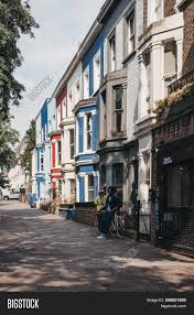 100 Notting Hill Houses London Uk July 21 Image Photo Free Trial Bigstock
