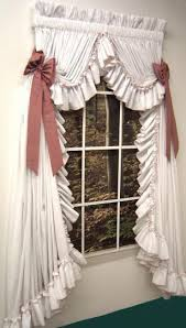 Pink And Purple Ruffle Curtains by Country Ruffled Curtain These Are Gorgeous I Want These For My