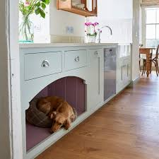 Bespoke Kitchen Dogs Bed The Perfect Solution To Getting Your Four Legged Friend Out From