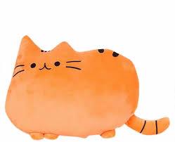 katze kuschel kissen plüsch tier deko dekokissen plüschtier flauschig kuschelkissen plüsch puppe kissen kastenkissen dekokissen für sofa