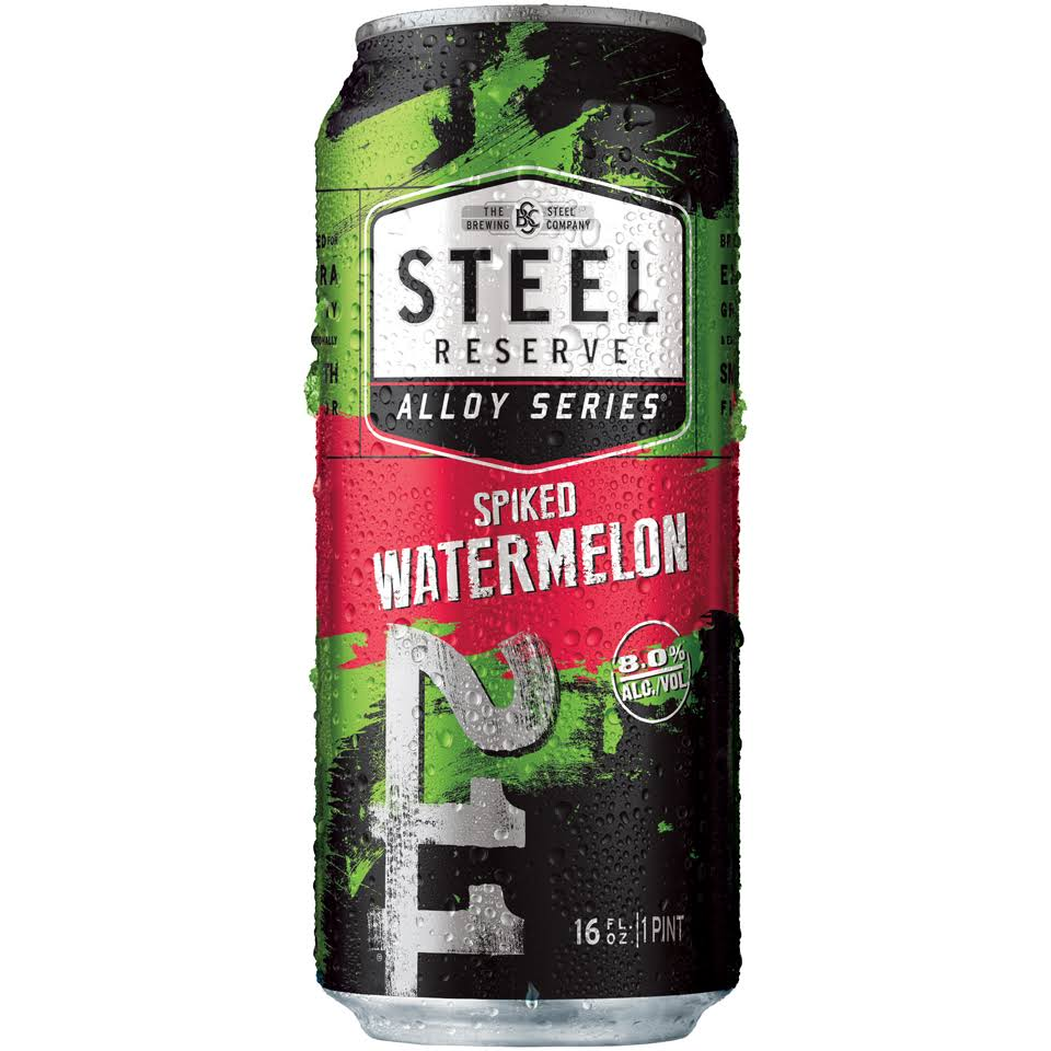 Steel Reserve Alloy Series Beer - Spiked Limeade, 4x16oz