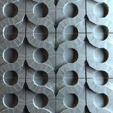 3D Grey Wall Tiles
