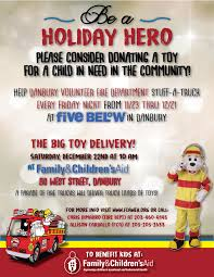 Danbury Volunteer Firefighters To Hold Big Toy Drive! New Location ...