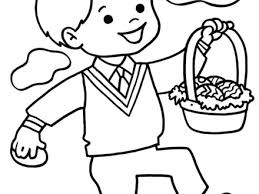 Easter Coloring Pages For Preschoolers 002