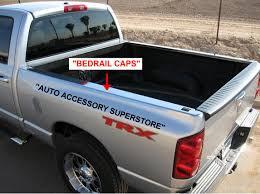bedrails bed rail caps tailgate caps