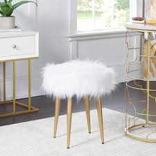 Roberto Round Fur Vanity Stool 2019 Vanity Stool Dressing With Cushion And Solid Legs Chair White From Fashionyourlife 4523 Dhgatecom Its Friday Friends Cass Street Local Wikipedia Astounding Comfortable Counter Height Stools Swivel Most Cool Chairs That Will Make Your Space More And Details About Butterfly Bow Tie Nordic Garden Iron Barstool Makeup Leisure Fair Licious Modern For Bathroom Back Rooms Immaculate Amazoncom Apelila Velvet With Rmjai Upholstered Wood Emma Vanitydesk Seat Low By Legacy Classic Kids At Dunk Bright Fniture