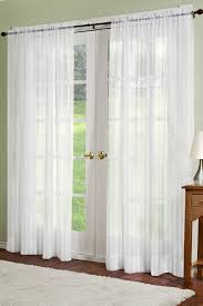 100 Residence Curtains Linen Sheer Look Collection Dylan Curtain Panel OffWhite