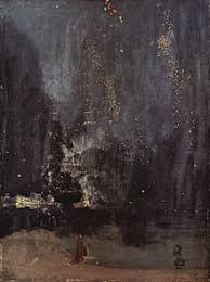 James McNeill Whistler Nocturne In Black And Gold The Falling Rocket 1874 Detroit Institute Of Arts A Near Abstraction 1877 Sued Art