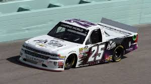 2018 NASCAR Camping World Truck Series Paint Schemes - Team #25