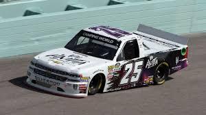 100 Jayski Trucks 2018 NASCAR Camping World Truck Series Paint Schemes Team 25