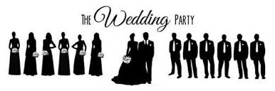 Wedding Party Clipart 44