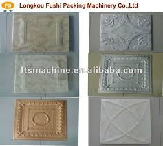 polystyrene foam ceiling tiles machine shop for sale in china