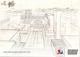 Find This Pin And More On One Point Perspective By Freehandarch