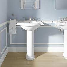 kohler devonshire 24 pedestal bathroom sink reviews wayfair