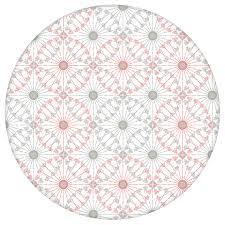 rosa graue tapete charming circles mit pfeil kreisen edle wanddeko für wohnzimmer