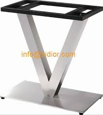 Stainless Steel Table Base Square Dining Leg Desk Furniture Legs SD 739