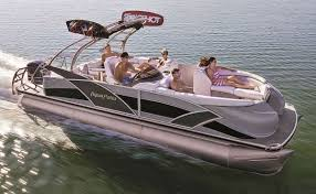 Aqua Patio Pontoon Bimini Top by What U0027s New For 2013 Pontoon U0026 Deck Boat Magazine