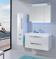 puris badmöbel starline 06 polarweiß hochglanz 90 cm