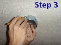 Wobbly Ceiling Fan Box by How To Install A Ceiling Fan Mount Bracket U0026 Electric Box One