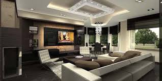 Living Room Modern Interior Design For Apartment Model