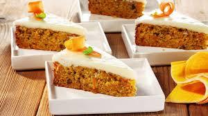 möhrenkuchen mit frischkäse frosting rezept