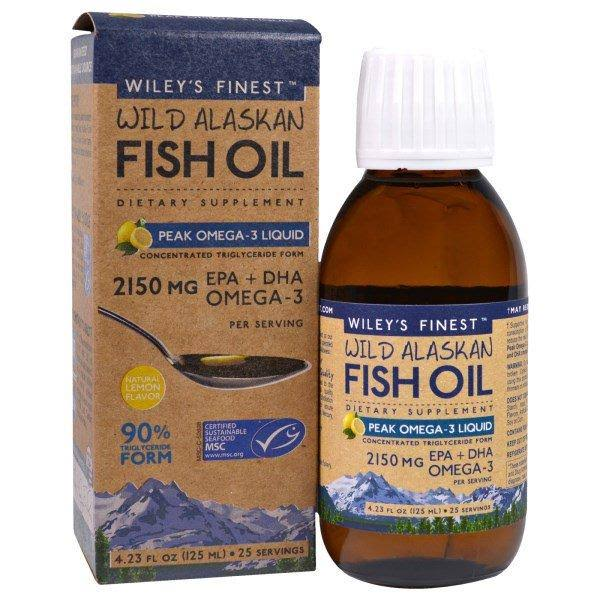 Wileys Finest Wild Alaskan Fish Oil