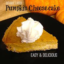 Pumpkin Layer Cheesecake by Cinnamon Beer Bread Pecan Bars And Pumpkin Cheescake
