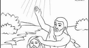 The Stylish John Baptist Coloring Page With Regard To Invigorate Color An Images