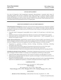 Automotive Store Manager Resume Examples Awesome Jewelry Sample