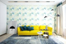 Yellow Living Room Color Schemes by Living Room Interior Design Ideas Nice Yellow Match The Glass And