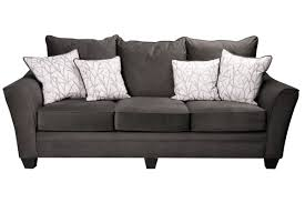 Colette Bed Crate And Barrel by Furniture Cheap Microfiber Couch Charcoal Grey Couch Gray